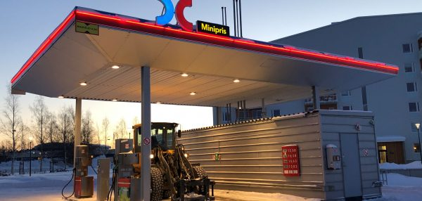 OKQ8 Södra Hamnen automaten